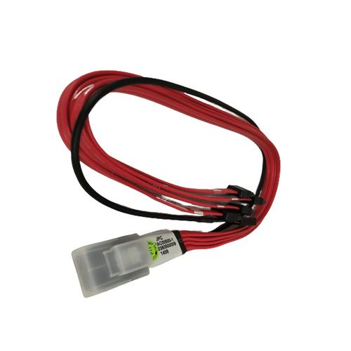Mini SAS to SATA cable with sideband (0.5M)