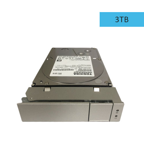 Pegasus R4/R6 3TB SATA HDD w/drive Carrier