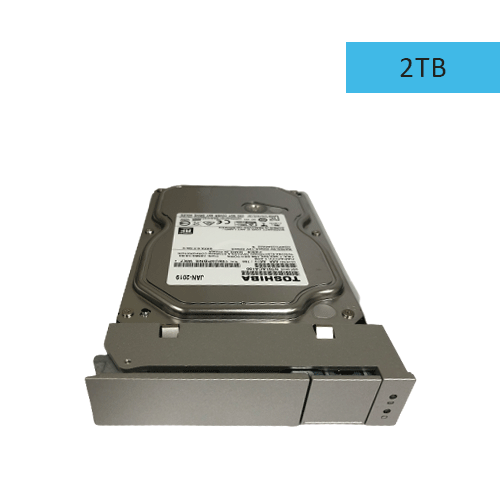 Pegasus R Series 2TB HDD with Drive Carrier